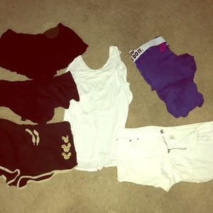 Bundle of sweats and lounge shorts 5 pc.